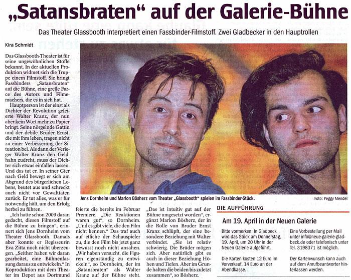 Satansbraten Presseheft Filme & Dvds